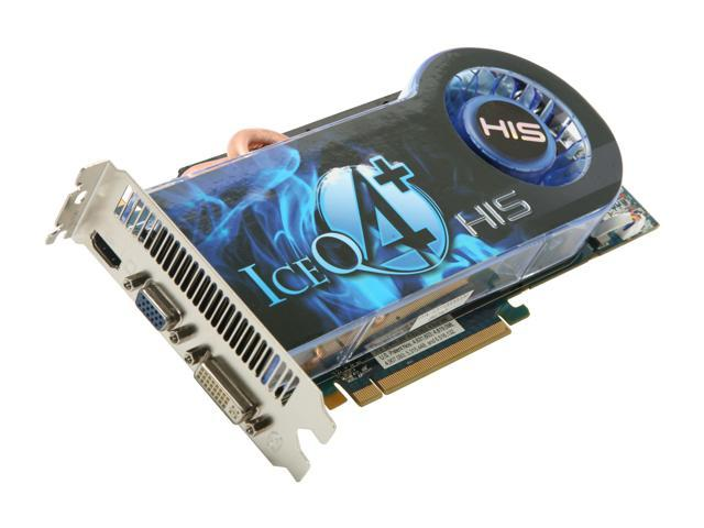 HIS Radeon HD 4870 DirectX 10.1 H487Q1GH 1GB 256-Bit GDDR5 PCI Express 2.0 x16 HDCP Ready CrossFireX Support Video Card