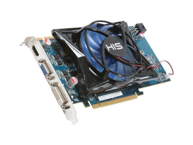 HIS Radeon HD 4850 DirectX 10.1 H485FM512H 512MB 256-Bit GDDR3 PCI Express 2.0 x16 HDCP Ready CrossFireX Support Video Card