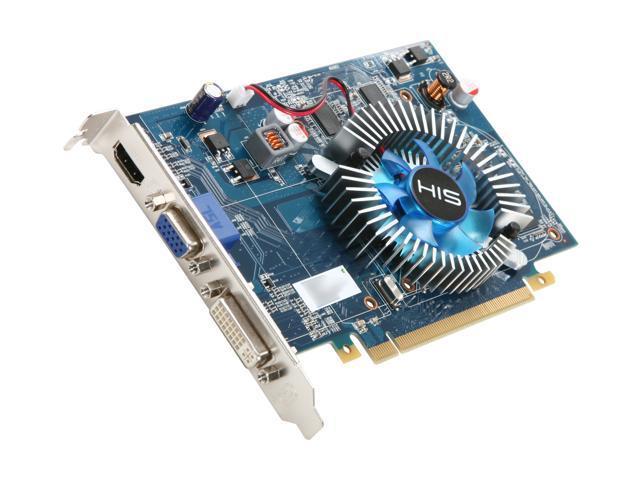 HIS Radeon HD 4650 DirectX 10.1 H465FS1GH Video Card