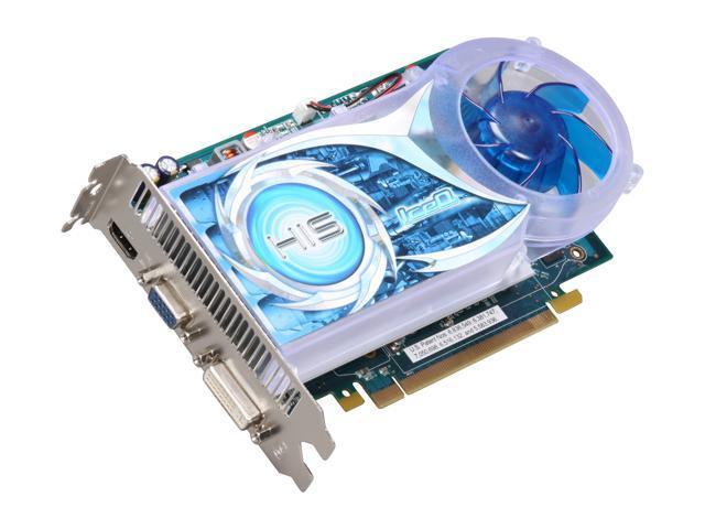 HIS Radeon HD 4670 DirectX 10.1 H467QR1GH Video Card