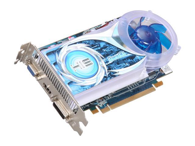 HIS H567Q512 Radeon HD 5670 (Redwood) IceQ 512MB 128-bit GDDR5 PCI Express 2.1 x16 HDCP Ready CrossFireX Support Video Card