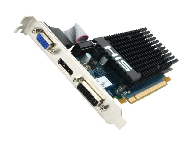 HIS Radeon HD 5450 (Cedar) DirectX 11 H545H1GDL 1GB 64-Bit DDR3 PCI Express 2.1 x16 HDCP Ready Low Profile Video Card