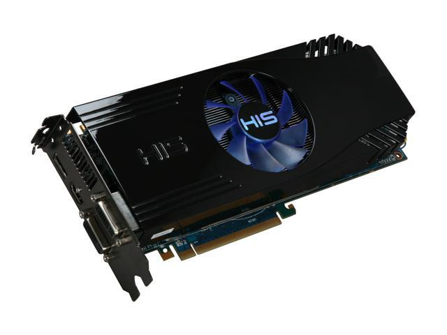 HIS Radeon HD 5870 DirectX 11 H587FN1GD 1GB 256-Bit GDDR5 PCI Express 2.1 x16 HDCP Ready CrossFireX Support Video Card with Eyefinity