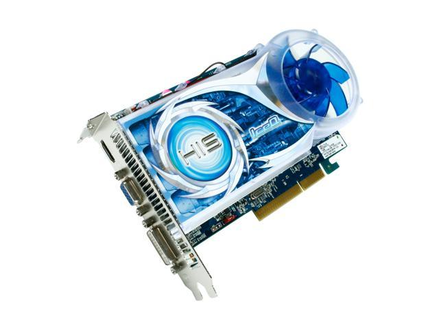 HIS IceQ Radeon HD 4670 DirectX 10.1 H467QS1GHA 1GB 128-Bit DDR3 AGP 4X/8X HDCP Ready Video Card