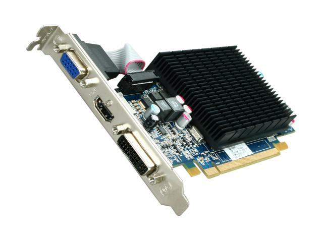 HIS Silence Radeon HD 5570 DirectX 11 H557HR1G 1GB 128-Bit DDR3 PCI Express 2.1 x16 HDCP Ready Low Profile Ready Video Card