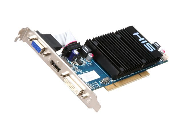 HIS H545H512P Radeon HD 5450 Silence 512MB 64-bit DDR3 PCI HDCP Ready Low Profile Video Card