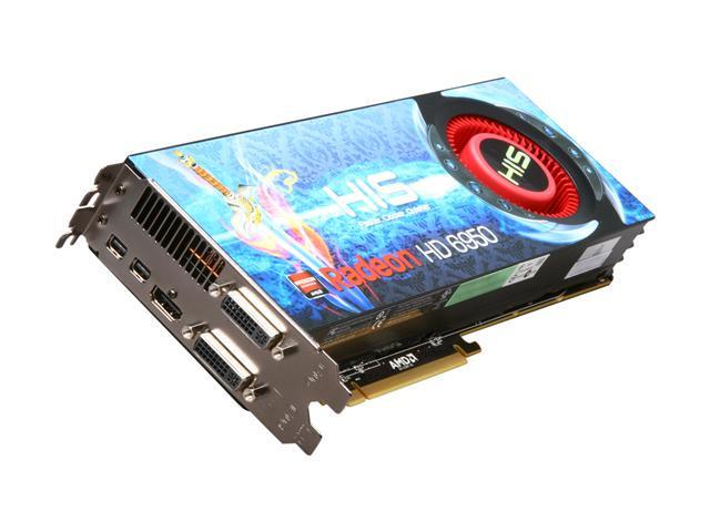 HIS HD 6000 Radeon HD 6950 DirectX 11 H695F2G2M 2GB 256-Bit GDDR5 PCI Express 2.1 x16 HDCP Ready CrossFireX Support Plug-in Card Video Card with Eyefinity