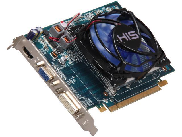 HIS Radeon HD 5670 DirectX 11 H567FO1G 1GB 128-Bit DDR3 PCI Express 2.1 x16 HDCP Ready Video Card