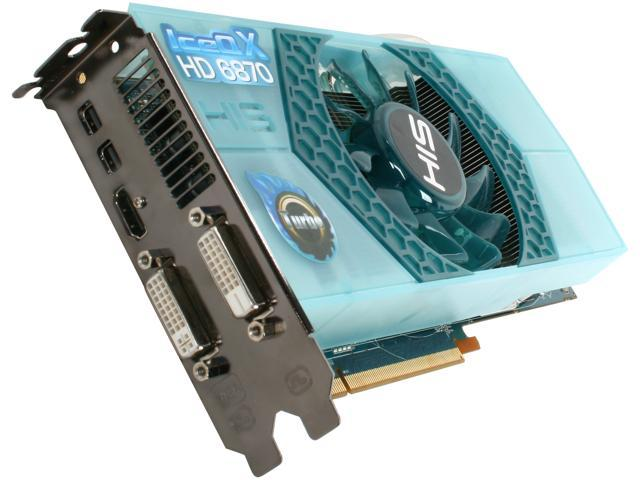 HIS IceQ X Turbo Radeon HD 6870 DirectX 11 H687QNT1G2M 1GB 256-Bit GDDR5 PCI Express 2.1 x16 HDCP Ready CrossFireX Support Video Card with Eyefinity