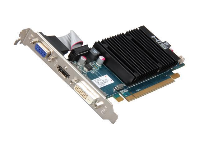 HIS HD 6000 Radeon HD 6450 DirectX 11 H645H1G 1GB 64-Bit DDR3 PCI Express 2.1 x16 HDCP Ready Low Profile Ready Video Card