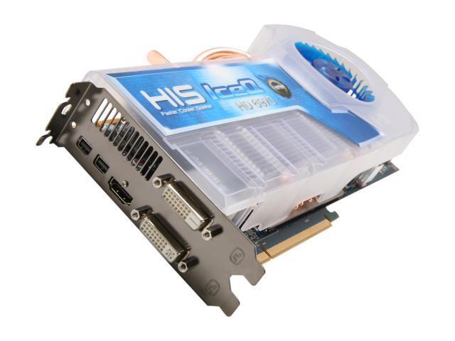 HIS IceQ Turbo Radeon HD 6970 DirectX 11 H697QT2G2M 2GB 256-Bit GDDR5 PCI Express 2.1 x16 HDCP Ready CrossFireX Support Video Card with Eyefinity