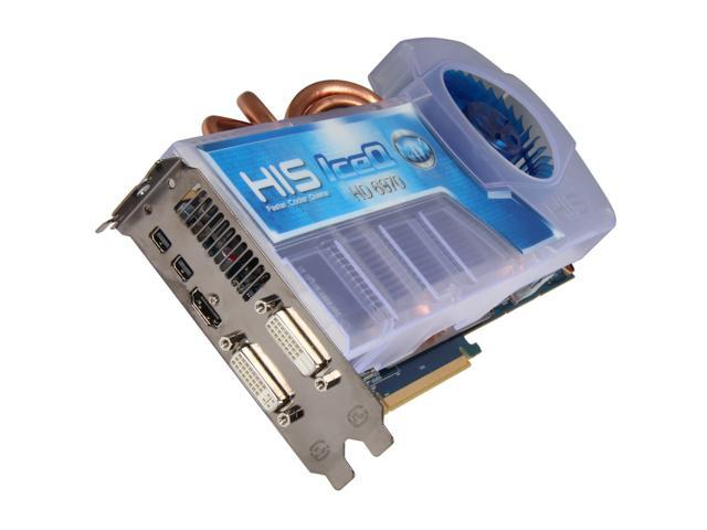 HIS IceQ Radeon HD 6970 DirectX 11 H697QM2G2M 2GB 256-Bit GDDR5 PCI Express 2.1 x16 HDCP Ready CrossFireX Support Video Card with Eyefinity