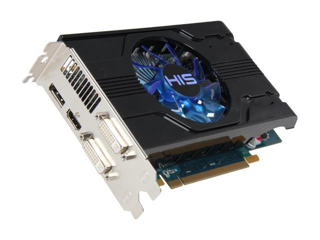 HIS Radeon HD 6770 DirectX 11 H677FN1GD Video Card with Eyefinity