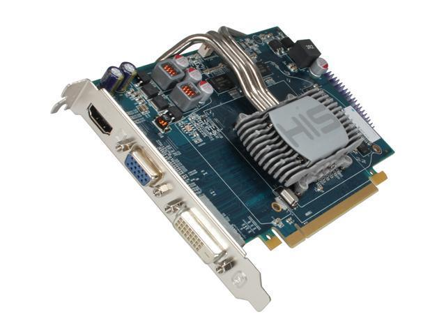 HIS iSilence 4 Radeon HD 6670 DirectX 11 H667PS1G 1GB 128-Bit DDR3 PCI Express 2.1 x16 HDCP Ready Video Card