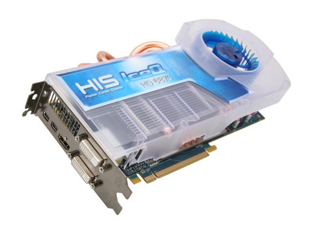 HIS IceQ Radeon HD 6870 DirectX 11 H687Q1G2M 1GB 256-Bit GDDR5 PCI Express 2.1 x16 HDCP Ready CrossFireX Support Video Card