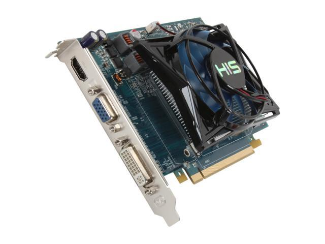 HIS Radeon HD 6750 DirectX 11 H675FS1G 1GB 128-Bit DDR3 PCI Express 2.1 x16 HDCP Ready Video Card