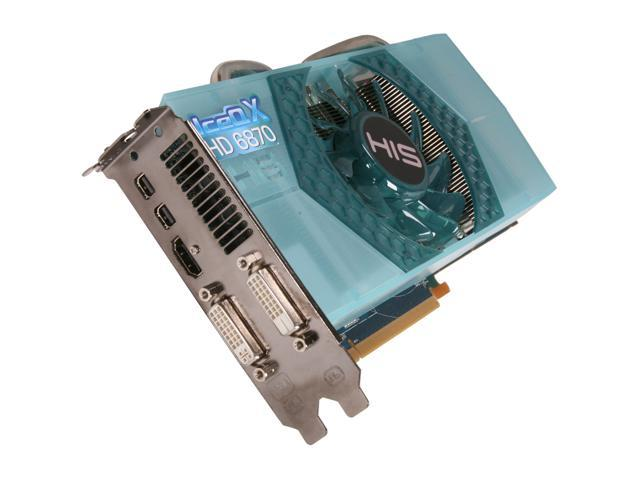 HIS IceQ X Radeon HD 6870 DirectX 11 H687QN1G2M 1GB 256-Bit GDDR5 PCI Express 2.1 x16 HDCP Ready CrossFireX Support Plug-in Card Video Card