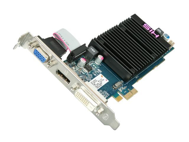 HIS Radeon HD 6450 DirectX 11 H645H2GD1 2GB 64-Bit DDR3 PCI Express x1 HDCP Ready Low Profile Video Card