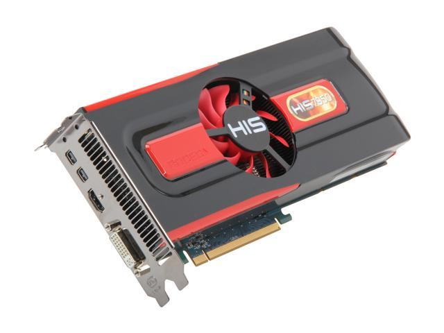 HIS Radeon HD 7950 H795F3G2M 3GB 384-Bit GDDR5 PCI Express 3.0 x16 HDCP Ready CrossFireX Support Video Card