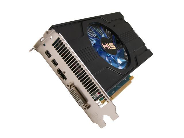 HIS iCooler Radeon HD 7770 DirectX 11 H777F1G2M 1GB 128-Bit GDDR5 PCI Express 3.0 x16 HDCP Ready Video Card