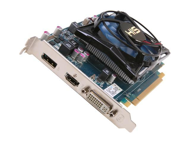 HIS iCooler Radeon HD 7750 DirectX 11 H775F1GD 1GB 128-Bit GDDR5 PCI Express 3.0 x16 HDCP Ready Video Card