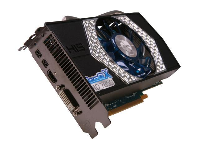 HIS IceQ X Radeon HD 7850 DirectX 11 H785QN2G2M 2GB 256-Bit GDDR5 PCI Express 3.0 x16 HDCP Ready CrossFireX Support Video Card