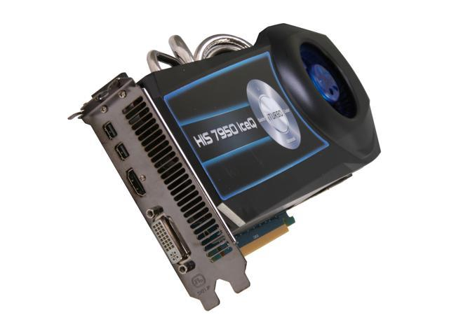 HIS IceQ Radeon HD 7950 DirectX 11 H795Q3G2M 3GB 384-Bit GDDR5 PCI Express 3.0 x16 HDCP Ready CrossFireX Support Video Card