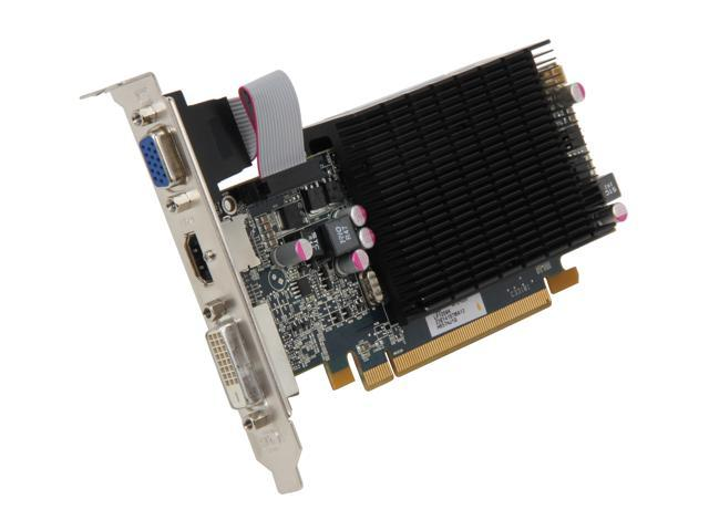 HIS Silence Radeon HD 6570 DirectX 11 H657HJ1G 1GB 64-Bit DDR3 PCI Express 2.1 x16 HDCP Ready Low Profile Ready Video Card