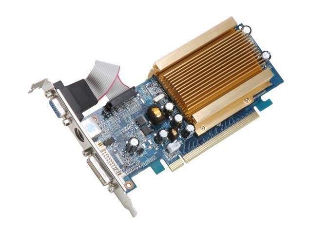 Galaxy GeForce 7200GS DirectX 9 72SEE4HDHCXX Video Card
