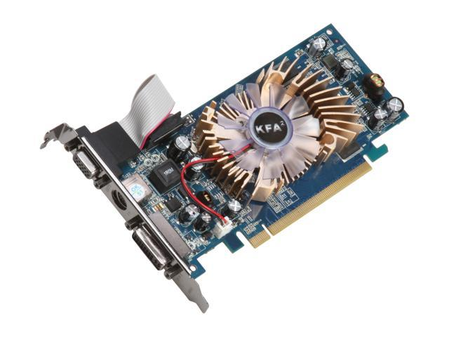 Galaxy GeForce 8500 GT DirectX 10 85GFE8HDFCXX 512MB 128-Bit GDDR2 PCI Express x16 Low Profile Video Card