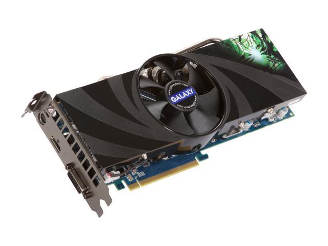 Galaxy GeForce GTX 260 DirectX 10 26XIF9HM1QUH 896MB 448-Bit DDR3 PCI Express 2.0 x16 HDCP Ready SLI Support Video Card