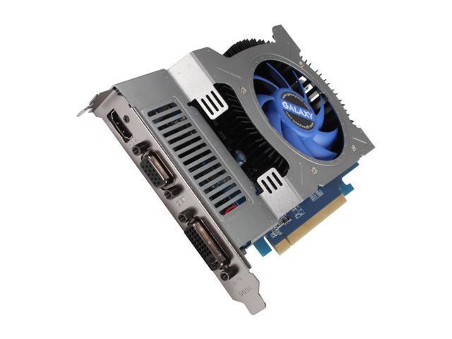 Galaxy GeForce GT 240 DirectX 10.1 24GGS8HX2PUX 1GB 128-Bit DDR3 PCI Express 2.0 x16 HDCP Ready Video Card