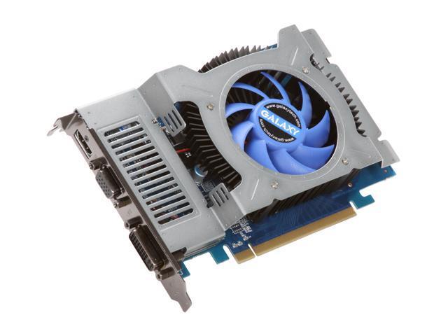 Galaxy GeForce GT 240 DirectX 10.1 24GFF8HX2PUU Video Card