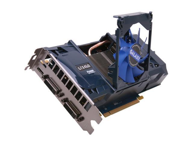 Galaxy GeForce GTX 460 (Fermi) DirectX 11 60XMH6HS3HMW Video Card