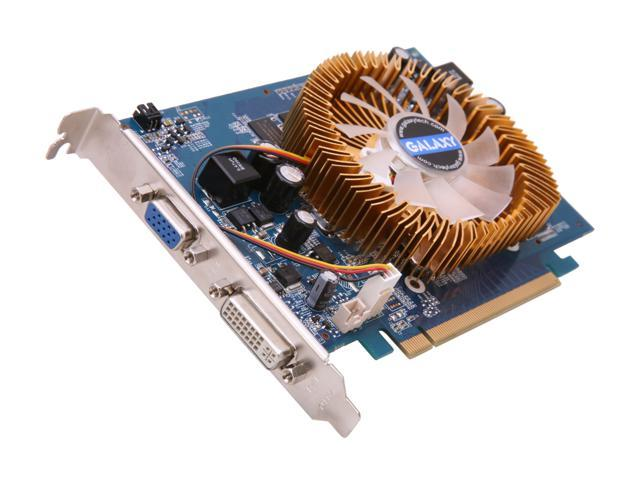 Galaxy GeForce 9500 GT DirectX 10 95TFE8DC1CMM Video Card