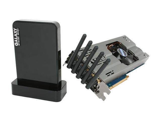Galaxy 60XGH6YY3TXG GeForce GTX 460 (Fermi) WHDI 1GB 256-bit GDDR5 PCI Express 2.0 x16 HDCP Ready Video Card