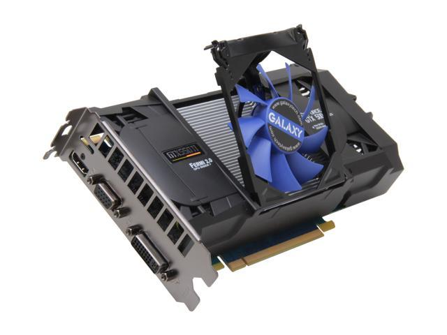 Galaxy GeForce GTX 550 Ti (Fermi) DirectX 11 55NPH8HX4LXZ Video Card