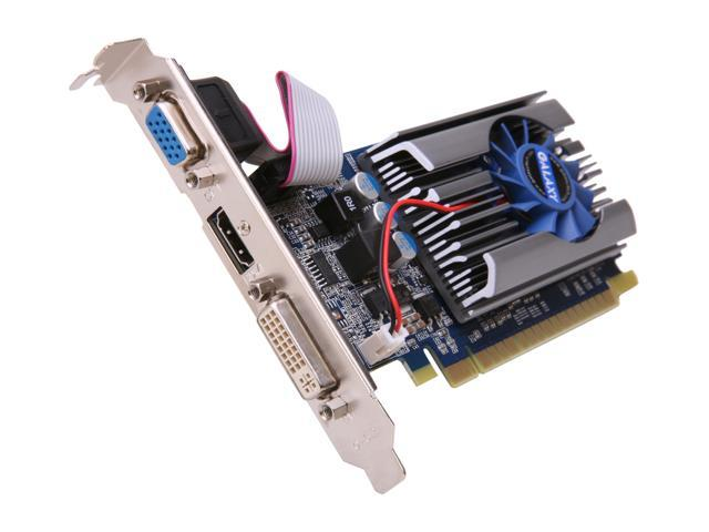 Galaxy GeForce GT 520 (Fermi) DirectX 11 52GGS4HX2HXZ 1GB 64-Bit DDR3 PCI Express 2.0 x16 HDCP Ready Video Card