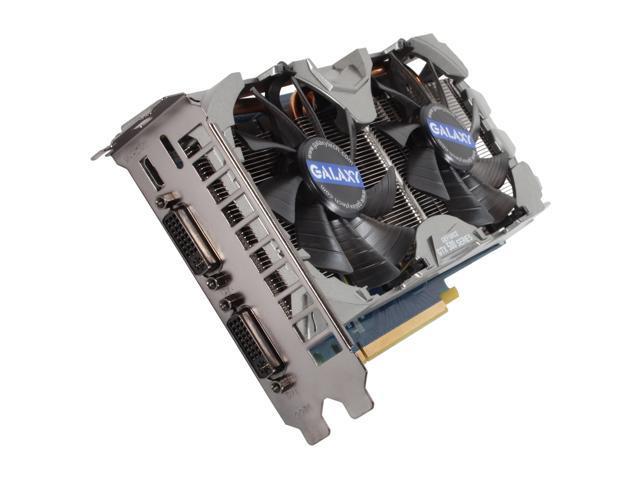Galaxy GeForce GTX 560 (Fermi) DirectX 11 56NPH6HS4IXX Video Card