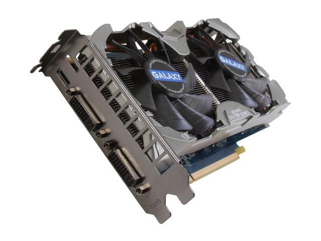 Galaxy GeForce GTX 560 Ti (Fermi) DirectX 11 56NGH6HS4IVZ Video Card