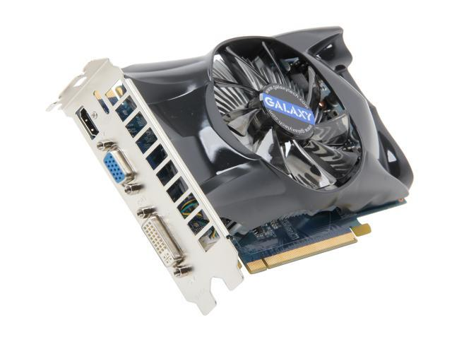 Galaxy GeForce GTX 550 Ti (Fermi) DirectX 11 55NGH8HX4UXX 1GB 192-Bit GDDR5 PCI Express 2.0 x16 HDCP Ready SLI Support Video Card