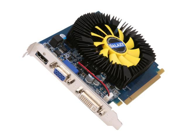 Galaxy 63TGS8HX3VVZ GeForce GT 630 GC 1GB 128-bit DDR3 PCI Express 2.0 x16 HDCP Ready  Video Card