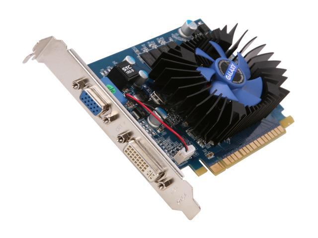 Galaxy 62TPF4DC3FNZ GeForce GT 620 GC 2GB 64-bit DDR3 PCI Express 2.0 x16 HDCP Ready  Video Card