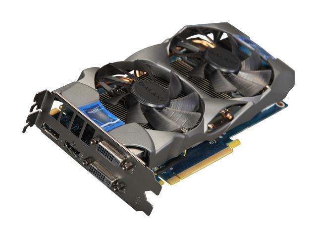 Galaxy 66NPH7DN6ZVZ GeForce GTX 660 GC 2GB 192-bit GDDR5 PCI Express 3.0 x16 HDCP Ready SLI Support Video Card