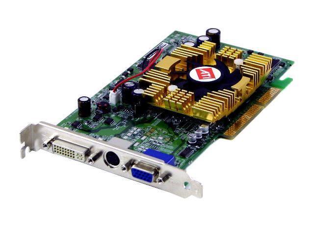 Rosewill Radeon 9600XT DirectX 9 RW96XT-128D 128MB 128-Bit DDR AGP 4X/8X Video Card