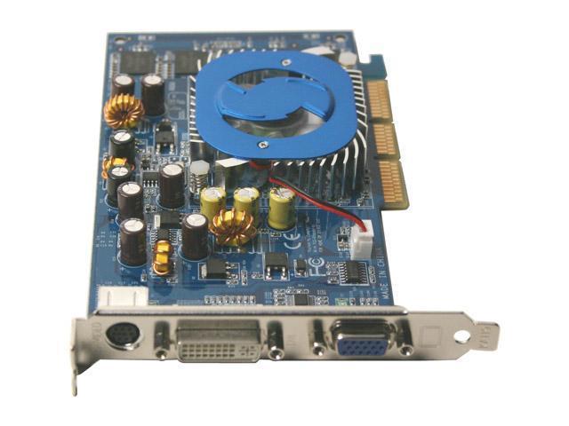 Rosewill GeForce 6200A DirectX 9 RW62A-256 256MB 64-Bit DDR AGP 4X/8X Video Card