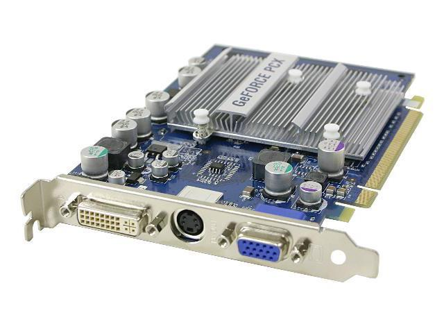 Albatron GeForce PCX5300 DirectX 9 PC5300 128MB 64-Bit DDR PCI Express x16 Video Card