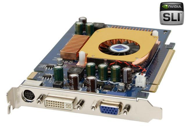 Albatron GeForce 6600 DirectX 9 PC6600U 128MB 128-Bit DDR PCI Express x16 SLI Support Video Card