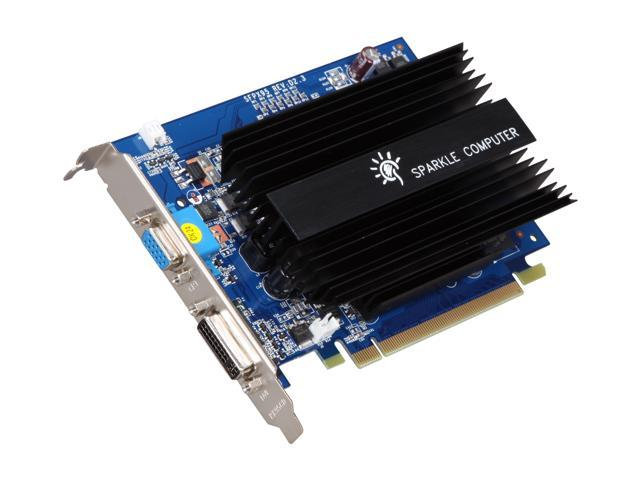 SPARKLE GeForce 9500 GT DirectX 10 SFPX95GT1024U2H 1GB 128-Bit GDDR2 PCI Express 2.0 x16 HDCP Ready Video Card