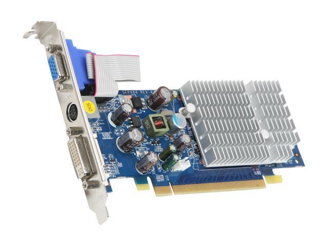 SPARKLE GeForce 7200GS DirectX 9 SX72GS512D2LHPP 512MB 64-Bit GDDR2 PCI Express x16 Video Card